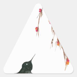 Tragos y bayas pegatina trianguladas personalizadas