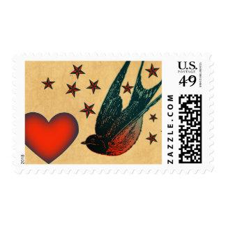 Tragos y estrellas sello