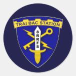 Trai Bac Station 1s Classic Round Sticker