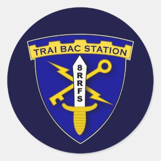 Trai Bac Station 1s Round Stickers