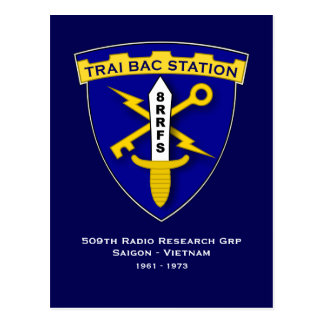 Trai Bac Station Postcard