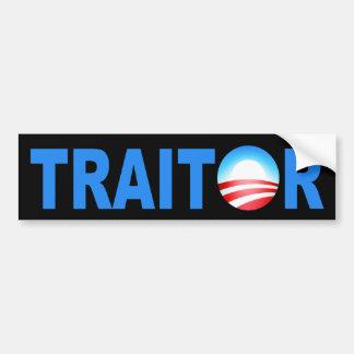 TRAIDOR Obama Etiqueta De Parachoque