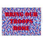 Traiga a nuestras tropas las cintas caseras de los