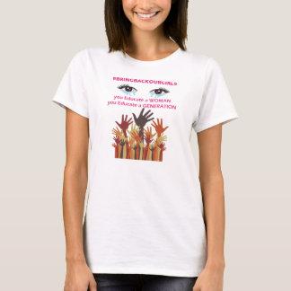 Traiga detrás a nuestros chicas las camisetas