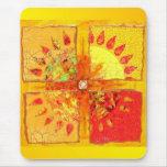 Traiga detrás la tarjeta de Sun Mousepad