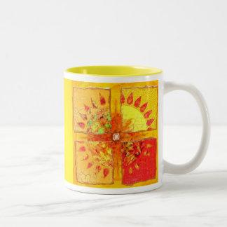 Traiga detrás la taza de Sun