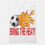 Traiga el calor toallas de cocina