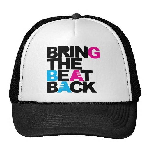Traiga el golpe detrás gorras