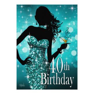 Traiga el trullo del cumpleaños el de la chispa comunicados personalizados