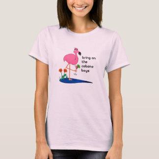 Traiga en la camiseta de las señoras de los