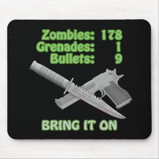 Traiga en los zombis tapete de ratones