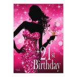 Traiga fuschia del cumpleaños el | de la chispa de comunicados personales