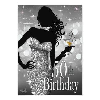 Traiga la plata del cumpleaños el | de la chispa invitación 12,7 x 17,8 cm