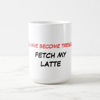 Traiga mi taza de Latte
