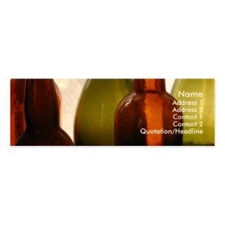 Traiga su propia tarjeta de visita de la botella