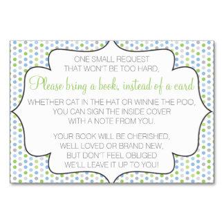 Traiga un libro en vez de una tarjeta