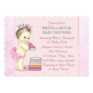 Traiga una fiesta de bienvenida al bebé del libro invitación 12,7 x 17,8 cm