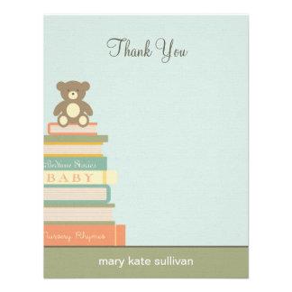 Traiga una fiesta de bienvenida al bebé del libro  comunicado personalizado