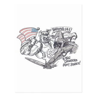 """Tráigalo"" para diseñar por Richard Gibbs Tarjetas Postales"