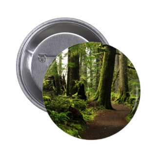 Trail Amongst Giants 2 Inch Round Button