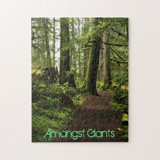 Trail Amongst Giants Jigsaw Puzzle
