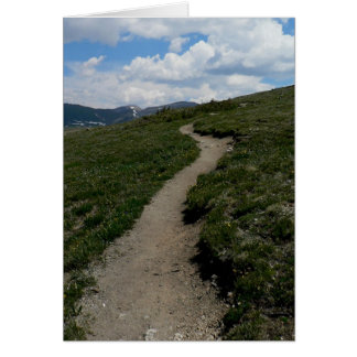 Trail at the Mountain Summit Card