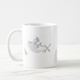 Trail Blazer Classic White Coffee Mug