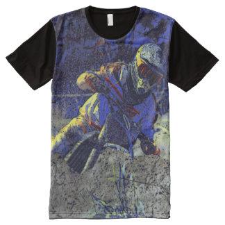 Trail Blazer Motocross Rider All-Over Print T-shirt