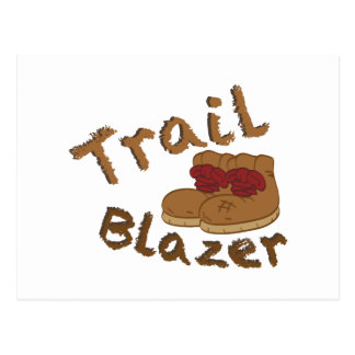 Trail Blazer Postcard