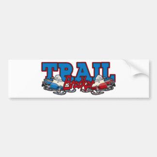 Trail Breaker Car Bumper Sticker
