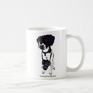 Trail dog logo coffee mug
