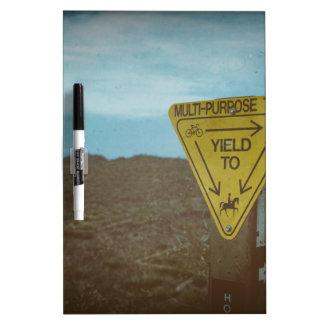 Trail Dry Erase Board