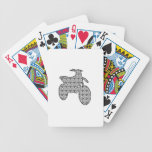 Trail Game With Pattern Bicycle Poker Cards