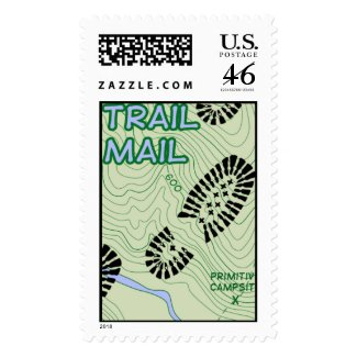 Trail Mail stamp