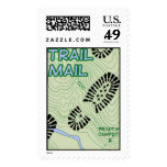 Trail Mail Postage Stamp