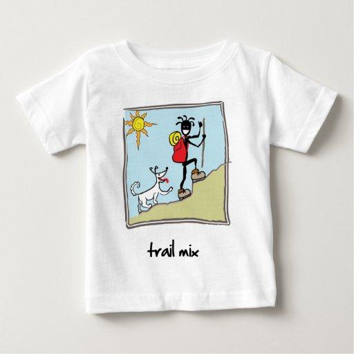 """Trail Mix"" Baby T-Shirt"