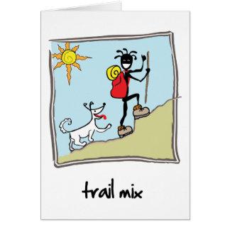 """""""Trail Mix"""" Card"""