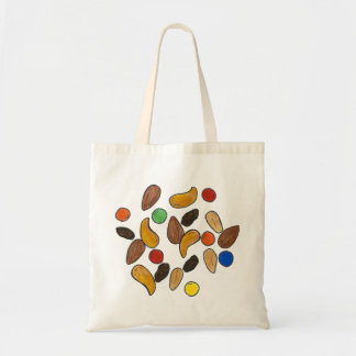 Trail Mix Chocolate Nuts Camping Snack Food Tote