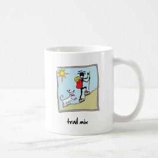"""""""Trail Mix"""" Coffee Mugs"""