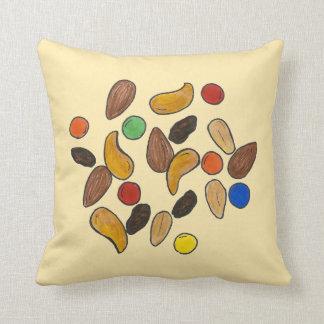 Trail Mix Peanuts Almonds Snack Food Foodie Pillow