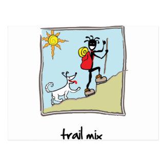 """""""Trail Mix"""" Postcard"""