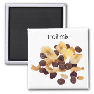 Trail Mix Refrigerator Magnet