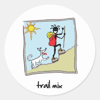 """""""Trail Mix"""" Sticker"""