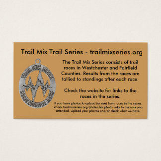 Trail Mix Website/Photo Business Card