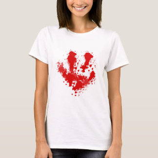 Trail of blood blood more splatter T-Shirt