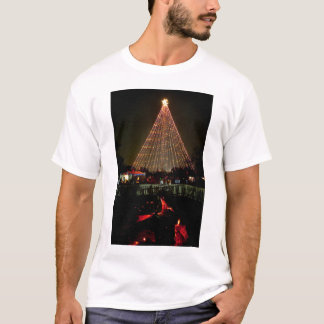 Trail of Lights Christmas TreeYule Log T-Shirt