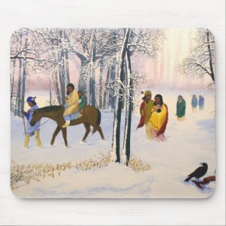 Trail of Tears Fine Art Mouse Pad