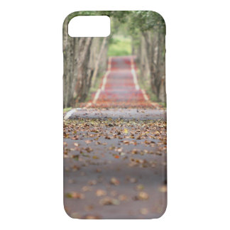 Trail of Trees Running Path iPhone 8/7 Case