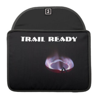 Trail ready, camping stove sleeve for MacBooks