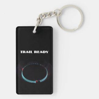 Trail ready, pressure stove keychain